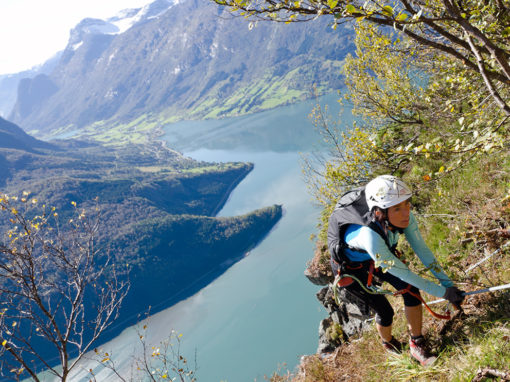 Via Ferrata Teil 2